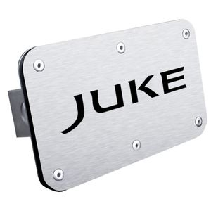Nissan Juke Stainless Steel Name Hitch Plug