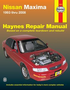 Nissan Maxima Haynes Repair Manual (1993-2008)
