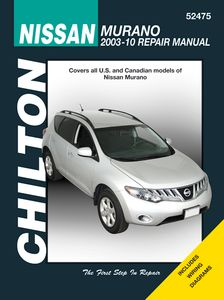 Nissan Murano Chilton Repair Manual (2003-2010)