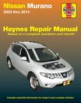 Nissan Murano Haynes Repair Manual (2003-2014)