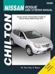 Nissan Rogue Chilton Repair Manual (2008-2015)