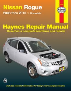 Nissan Rogue Haynes Repair Manual (2008-2015)
