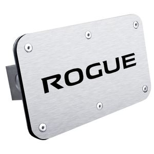 Nissan Rogue Stainless Steel Name Hitch Plug
