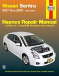 Nissan Sentra Haynes Repair Manual (2007-2012)