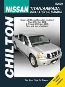 Nissan Titan & Armada Chilton Manual (2004-2014)