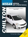 Nissan Versa Chilton Repair Manual (2007-2014)