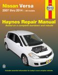Nissan Versa Haynes Repair Manual (2007-2014)