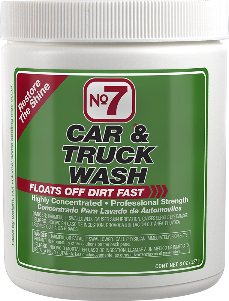 Image of No. 7 Car Wash Concentrated Powder (8 oz.)