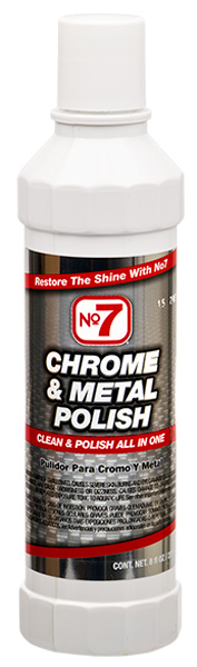Image of No. 7 Chrome & Metal Polish (8 oz)