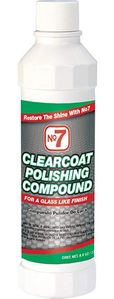 No. 7 Clearcoat Polishing Compound