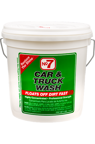 Image of No. 7 Concentrated Car Wash Powder (4 lbs.)