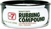 No.7 Heavy Duty Rubbing Compound (10 oz.)