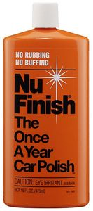 Nu Finish Once-A-Year Car Polish (16 oz)