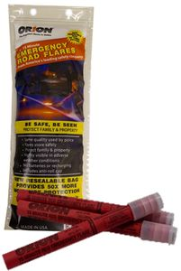 Orion Emergency Roadside Flares (3 Pack)