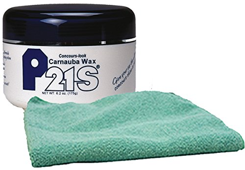 Image of P21S Concours-Look Carnauba Paste Wax & Microfiber Cloth Kit
