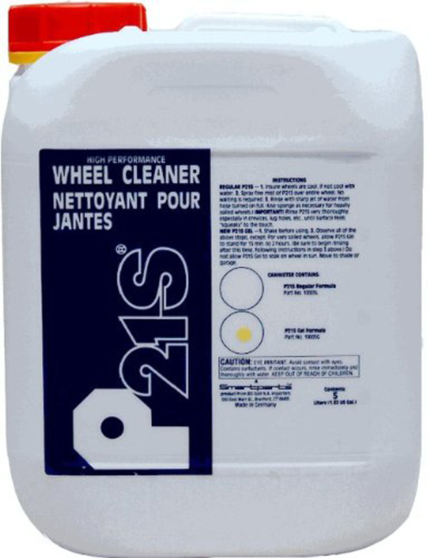 Image of P21S Gel Wheel Cleaner 5 liter Canister