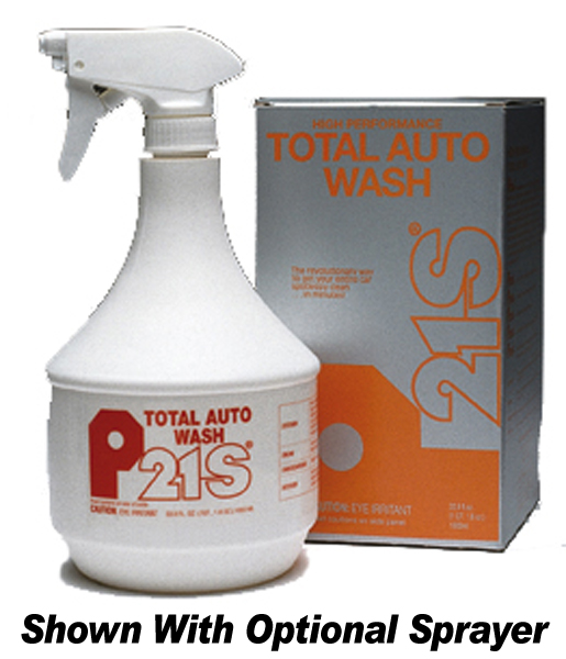 Image of P21S High Performance Total Auto Wash Kit / Refill 1000 ML - Kit w/Sprayer