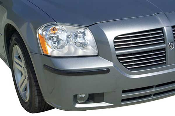 Pacer Designer Style Car Bumper Guard (4 Pack) -  Clear