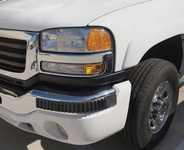 Pacer Heavy Duty Truck Bumper Guards (Pair)