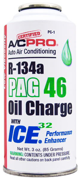 Image of A/C Pro R-134a PAG 46 Oil Charge with ICE 32 (3 oz.)