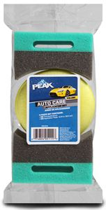 Peak Auto Care Wheel & Wax Pad Set