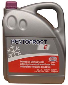 Pentofrost E Phosphate-Free Anti-Freeze/Coolant Concentrate (5 Liters)