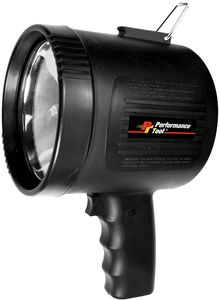 Performance Tool 1 Million Candle Power Rechargeable Spotlight