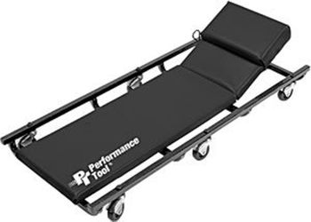 """Performance Tool 40"""" Caster Creeper With Adjustable Headrest"""