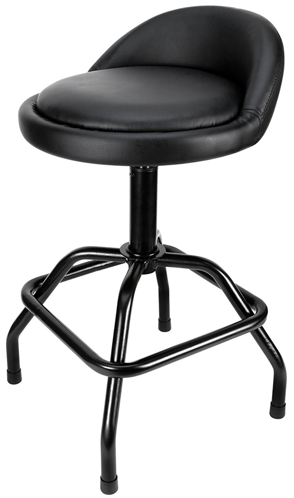 Performance Tool Adjustable Swivel Bar Stool