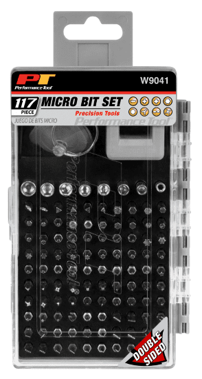 Image of Performance Tool 117 Piece Micro Bit set