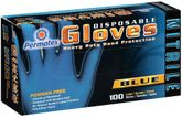 Permatex Disposable Blue Nitrile Gloves Box (100 ct.)