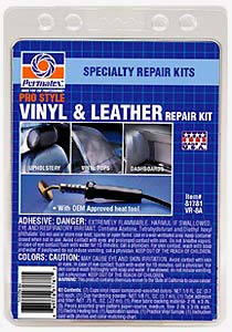 Image of Permatex Pro Style Vinyl & Leather Repair Kit