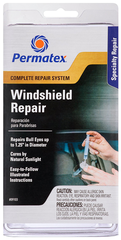 Image of Permatex Professional Windshield Repair Kit
