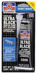 Permatex Ultra Black Maximum Oil Resistant RTV Silicone Gasket Maker (3 oz.)