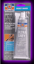 Permatex Ultra Grey Rigid High-Torque RTV Silicone Gasket Maker (3.5 oz)