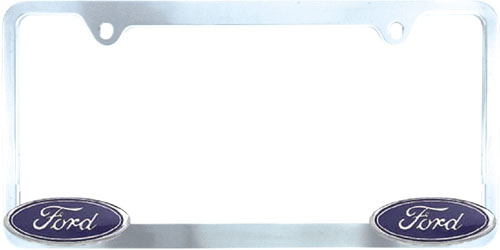 Pilot Chrome Ford License Plate Frame