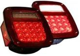 Pilot Jeep Wrangler LED License Illumination Replacement Taillight (1987-2006)