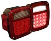 Pilot Jeep Wrangler LED Replacement Tail Light (1987-2006)