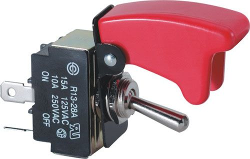 Toggle Switch Cover >> Pilot Safety Cover Toggle Switch