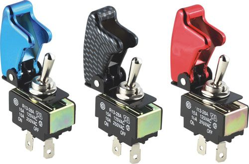 Toggle Switch Cover >> Pilot Safety Cover Toggle Switches