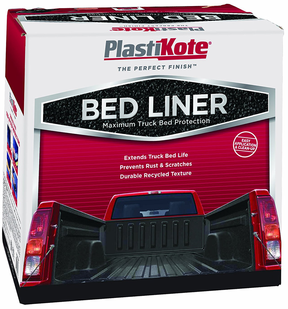 Image of Plasti-Kote Truck Bed Liner Kit (Gallon)