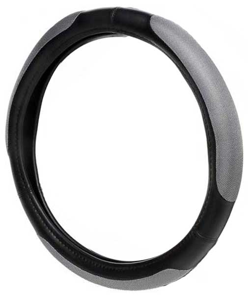 Black Platinum Grip Steering Wheel Cover
