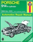 Porsche 914 4-Cylinder Haynes Repair Manual (1969-1976)