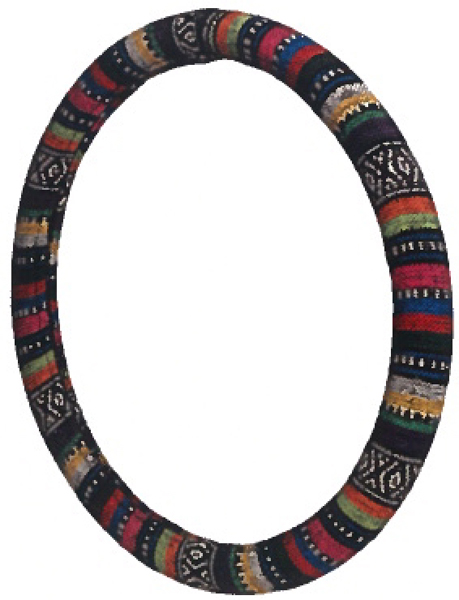 Image of Prairie Stripe Steering Wheel Cover