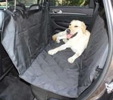 Hammock Style Rear Quilted Pet Seat Cover
