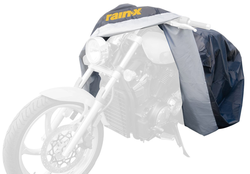 Image of Rain-X Universal Black & Silver Motorcycle Covers - Large