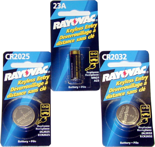 Image of Rayovac Lithium Batteries - CR2016