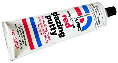 Image of Ready-To-Use Red Glazing Putty (16 oz.)