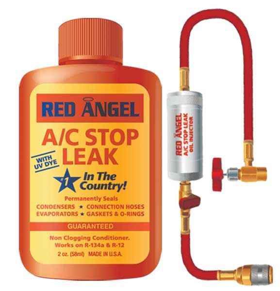 Red Angel A C Stop Leak Amp Injector Kit Blu49496 Kit