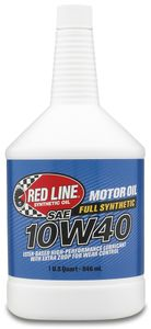 Red Line 10W40 Synthetic Motor Oil (1 Qt.)